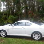03 Hyundai Tiburon sports car
